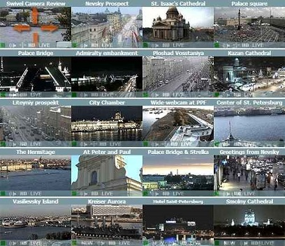 webcams de San Petersburgo